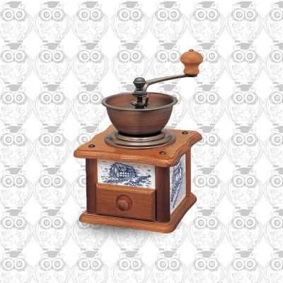 【日本】Kalita 鑄鐵磨芯鄉村風手搖磨豆機