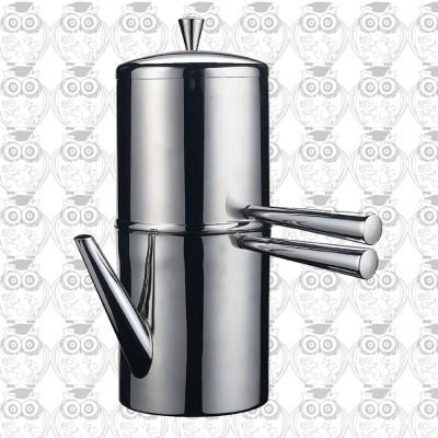 【義大利】ILSA 拿坡里傳統萃取咖啡壺顛倒壺500ml(6人份)